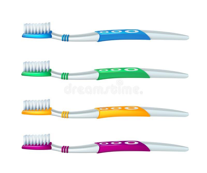 E Concept dentaire r illustration de vecteur