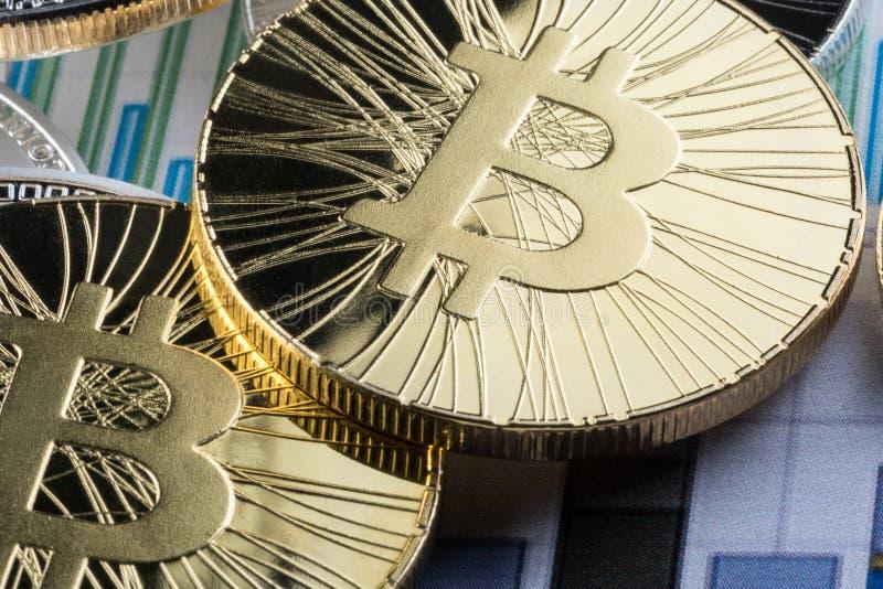 E Conceptueel beeld voor crypto muntmarkt royalty-vrije stock fotografie
