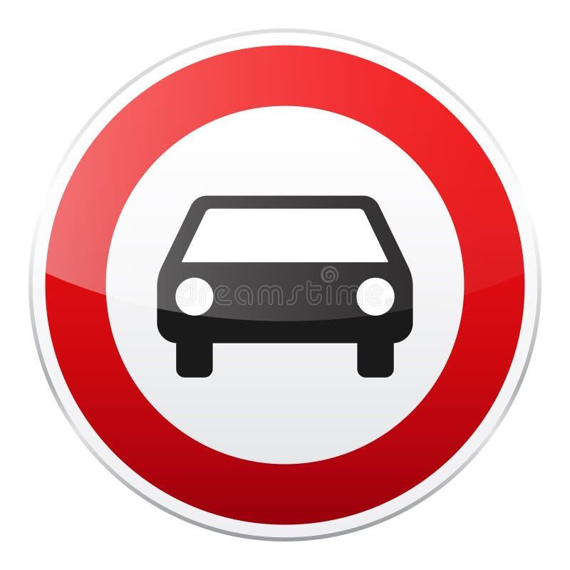 E Controle de tráfego rodoviário Uso da pista r Parada e rendimento rua ilustração stock