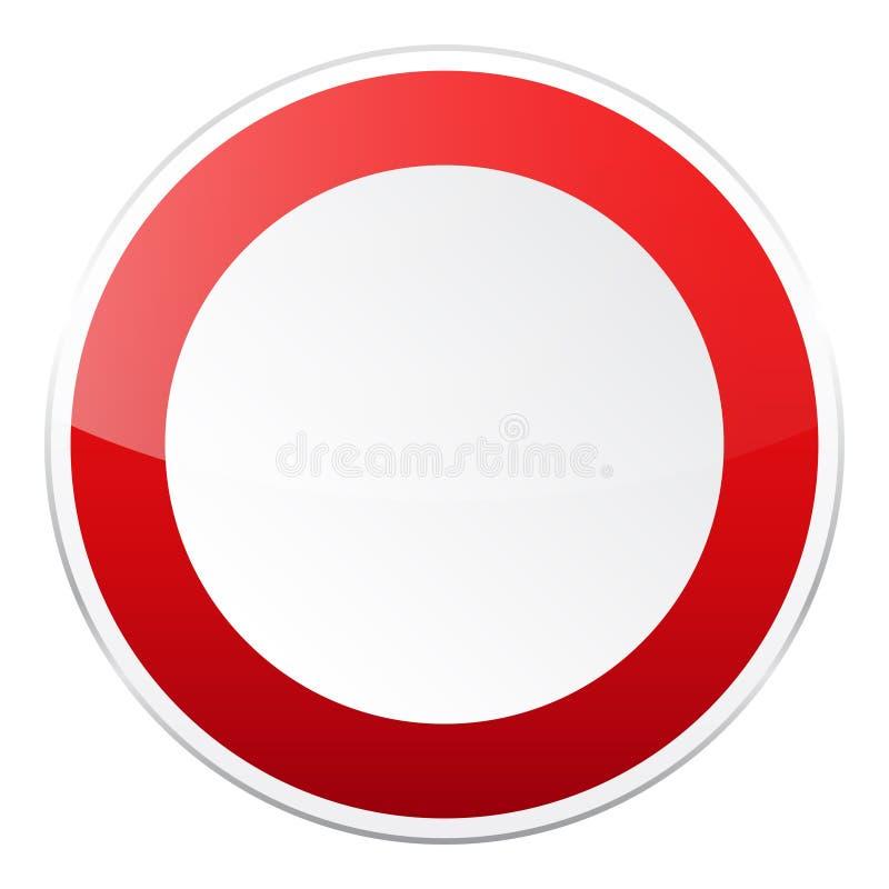 E Controle de tráfego rodoviário Uso da pista r Parada e rendimento rua ilustração royalty free