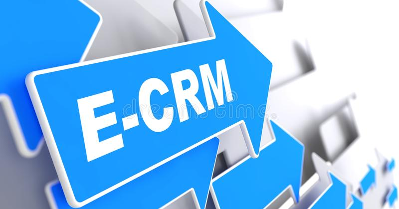 Download E-CRM. Information Technology Concept. Stock Photography - Image: 33571922