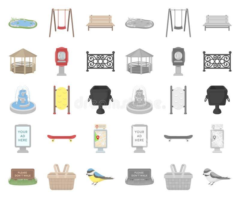 E Das Gehen und der Rest vector Netzillustration des Symbols auf Lager lizenzfreie abbildung