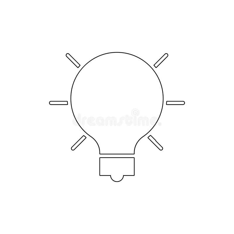 E De tekens en de symbolen kunnen voor Web, embleem, mobiele toepassing, UI, UX worden gebruikt royalty-vrije illustratie