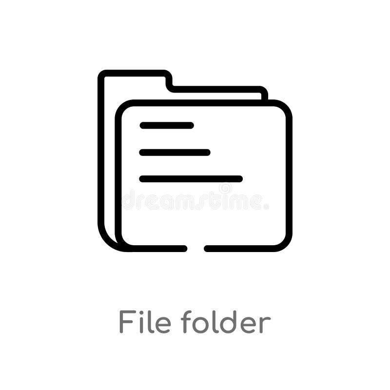 E den isolerade svarta enkla linjen beståndsdelillustration från redigerar hjälpmedelbegrepp Redigerbar vektorslaglängd stock illustrationer