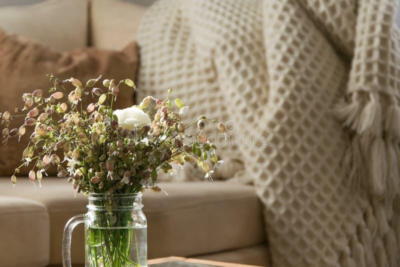 E Design de interiores fotografia de stock royalty free