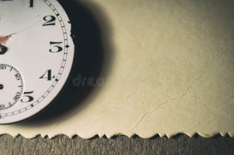 E Dettagli degli orologi e dei meccanismi per la riparazione, il ripristino e la manutenzione Fondo immagine stock