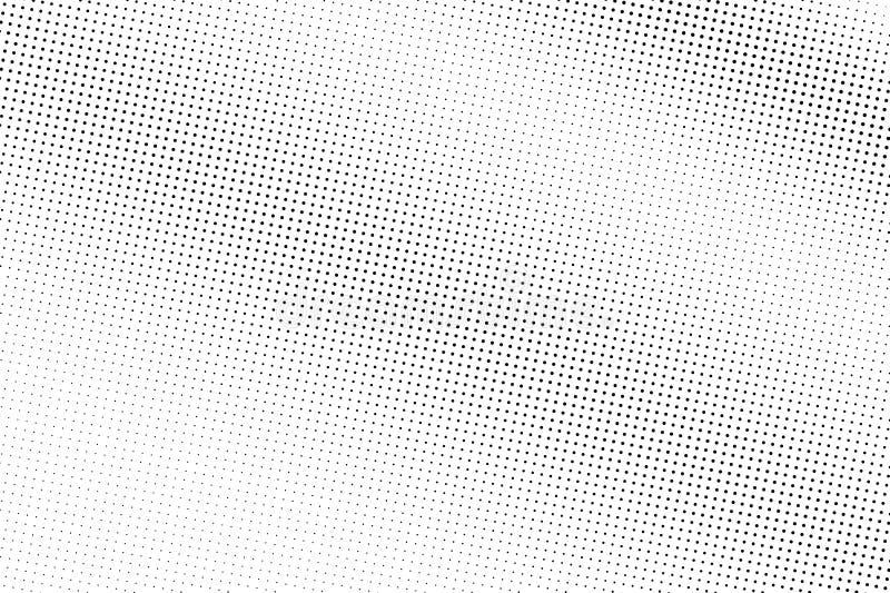 E Diagonale gradi?nt op ruwe dotworktextuur De micro stippelde halftone stock illustratie