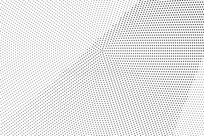 E Diagonale gradiënt op ruwe dotworktextuur Verontruste gestippelde halftone stock illustratie
