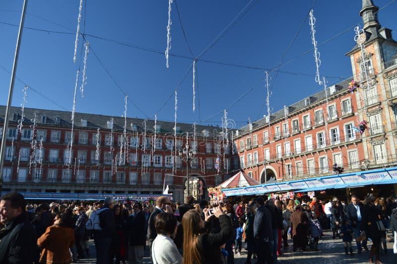 E 7 dicembre 2013 Madrid, Spagna via immagine stock