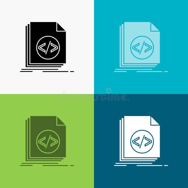 E dise?o del estilo del glyph, dise?ado para el web y el app Vector del EPS 10 stock de ilustración