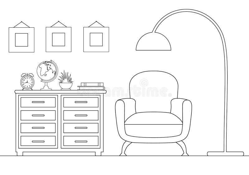 E Ejemplo linear libre illustration