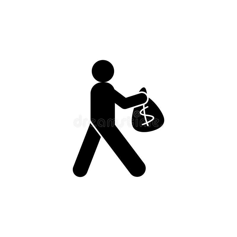E Element van het pictogram van de Ontwikkelingsillustratie De tekens en de symbolen kunnen voor Web, embleem, mobiele toepassing vector illustratie