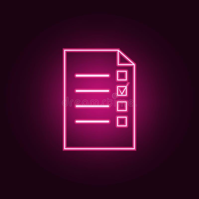 E Elemente des Wahlsatzes Einfache Ikone f?r Website, Webdesign, mobiler App, Informationsgraphiken lizenzfreie abbildung