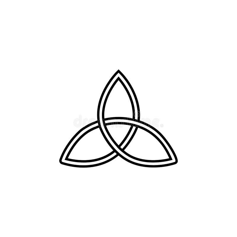 E Elemento da mágica para o conceito e o ícone móveis dos apps da Web Linha fina ícone para o projeto e o desenvolvimento do Web  ilustração stock
