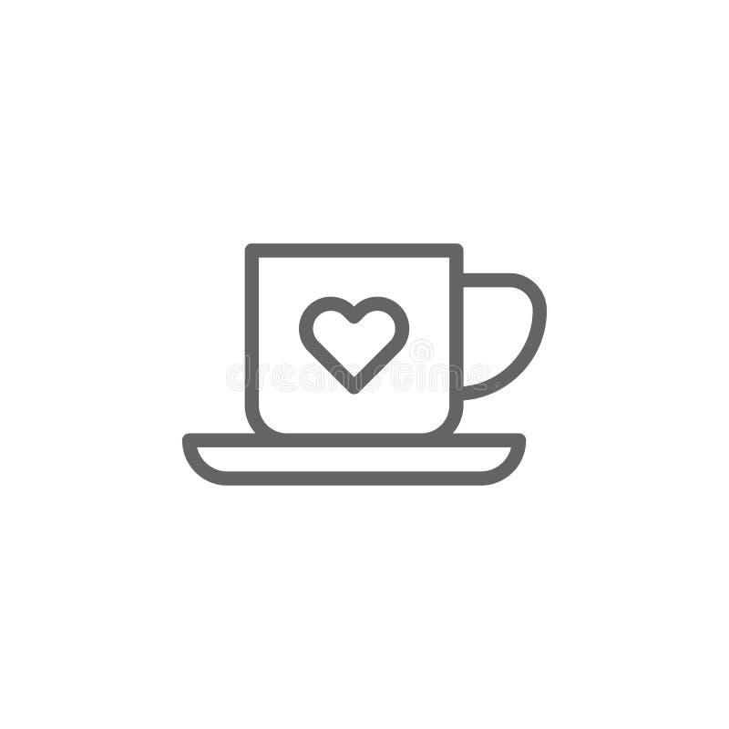 E Elemento dell'icona dell'illustrazione di giorno di madri I segni ed i simboli possono essere usati per il web, logo, cellulare illustrazione di stock