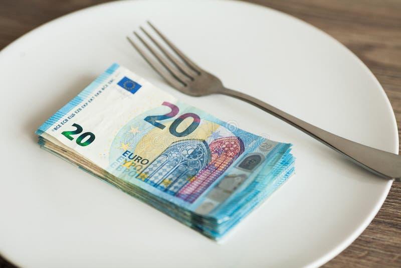 E Eurofoto Girigt korruptionbegrepp Mutaidé arkivbild