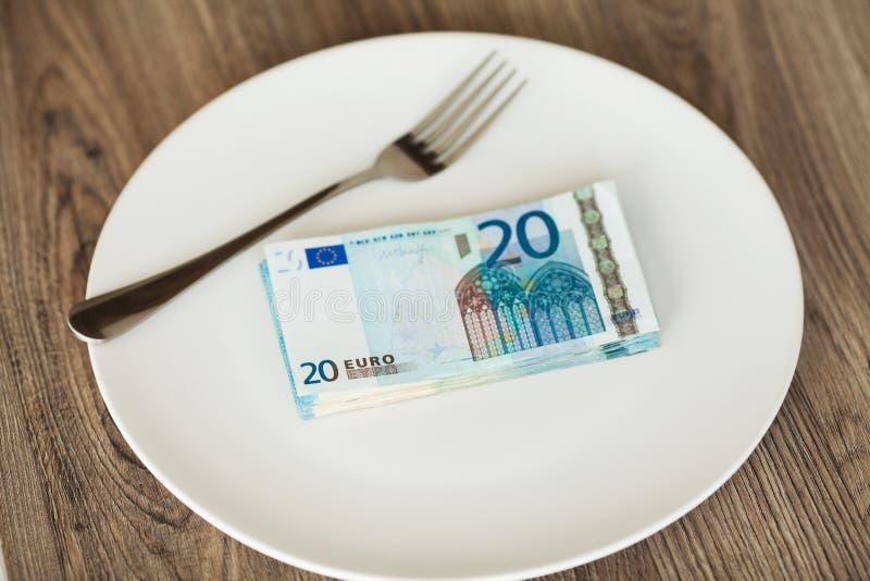 E Eurofoto Girigt korruptionbegrepp Mutaidé arkivfoton