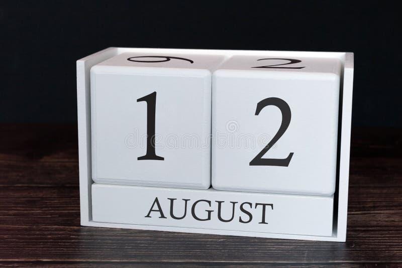 E Fecha del organizador del planificador o concepto del horario de los acontecimientos fotografía de archivo libre de regalías