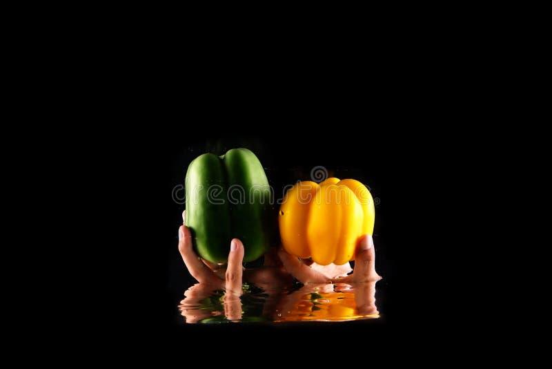 E Fine su spazio vegetariano r immagini stock
