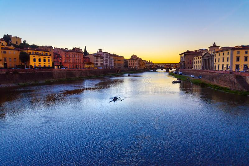 E Florence Italië stock foto's