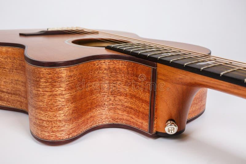 E Forma da guitarra foto de stock royalty free