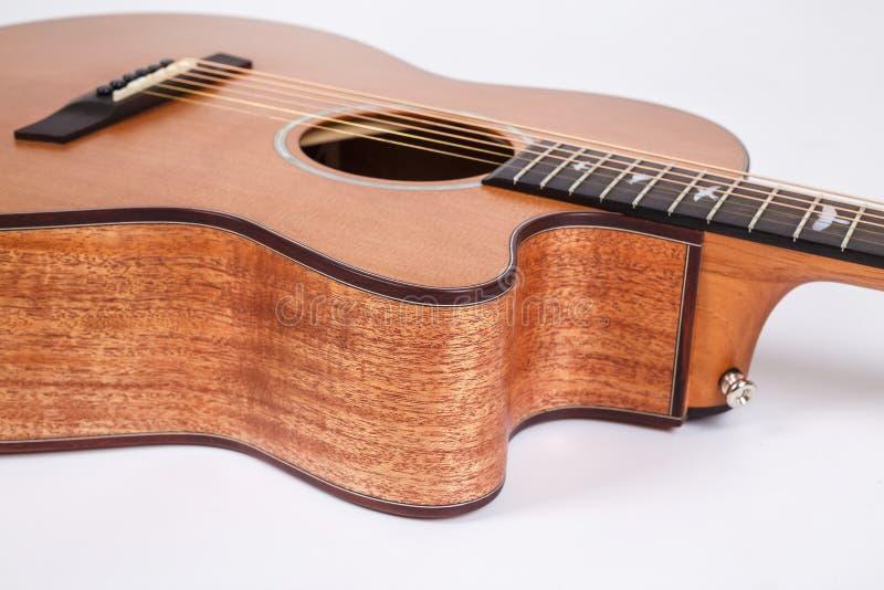 E Forma da guitarra imagens de stock royalty free