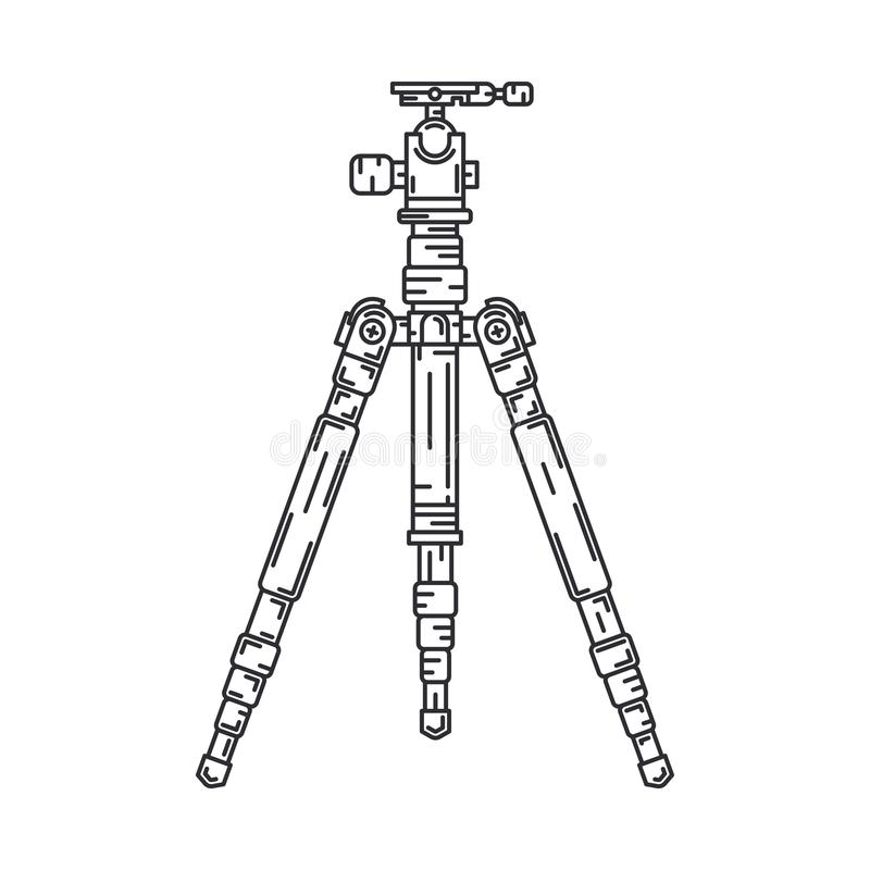 E Fotografikonst r vektor illustrationer