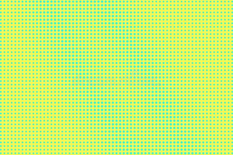 E Frequente halftone textuur Regelmatige dotworkgradi?nt r stock illustratie