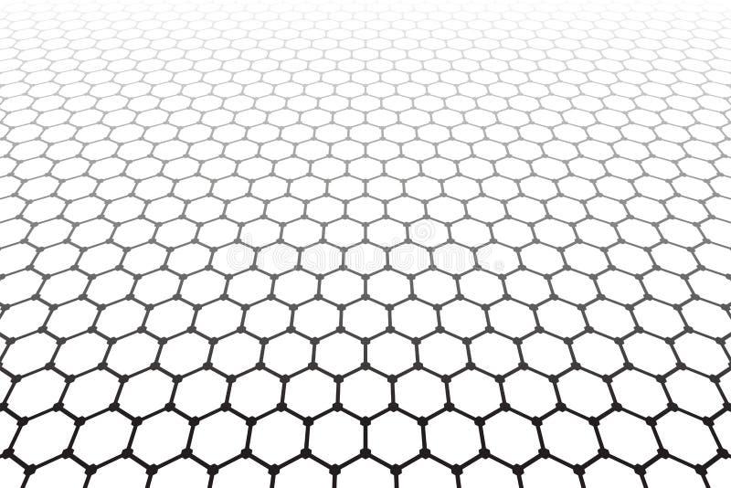 E Geometrisk latticed textur royaltyfri illustrationer