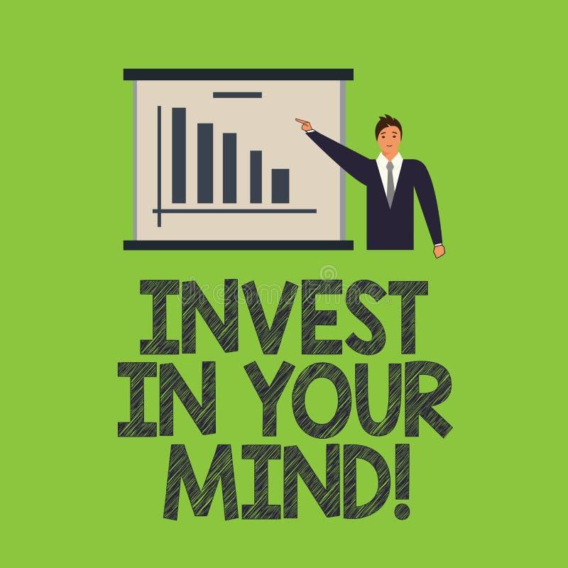 E Get新知识的企业概念更多教育改进自己人  库存例证