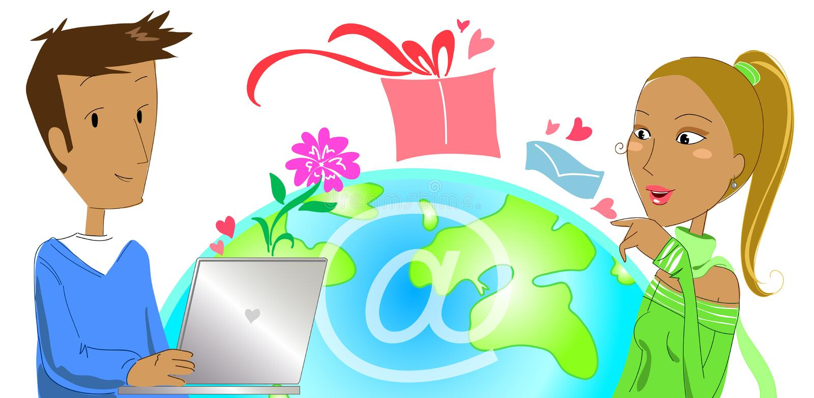 Download Buying A Gift From E-commerce Stock Images - Image: 10148654