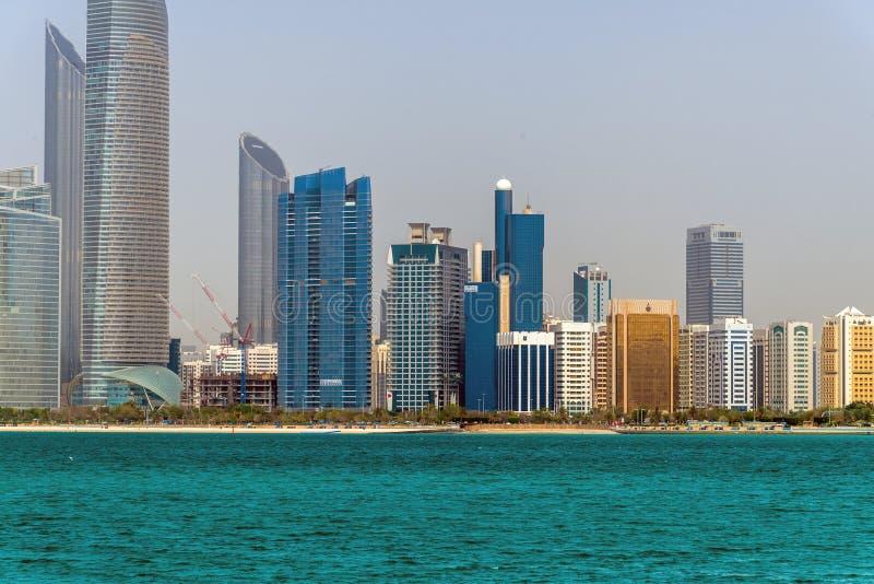 E 2019 gratte-ciel sur la route de Corniche photo libre de droits