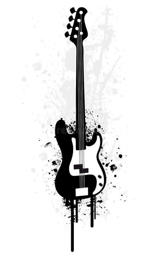 E-Guitar stock illustration