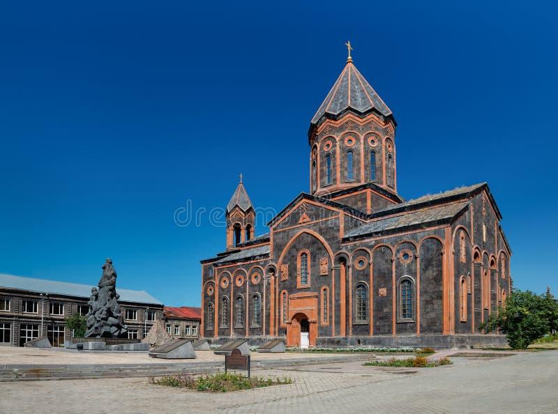 E Gyumri, Armeni? stock foto's