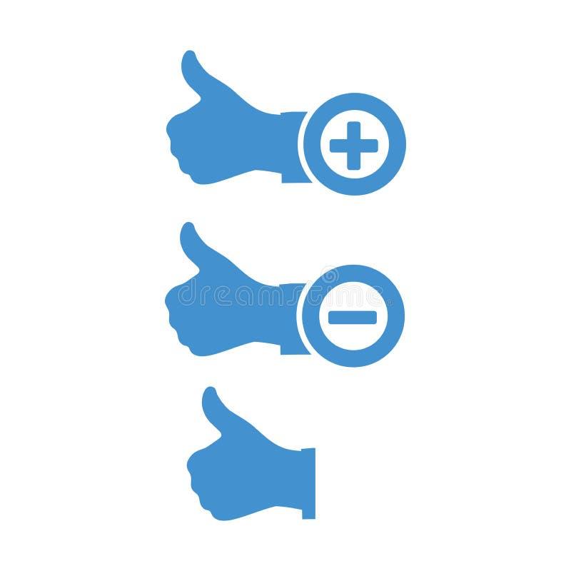 E hand thumb up шток померанца иллюстрации предпосылки яркий бесплатная иллюстрация
