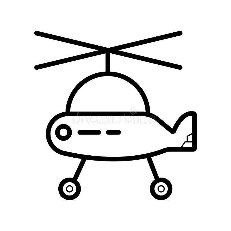 E Helico stock illustrationer