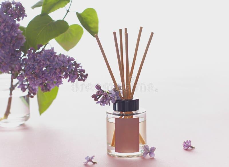 E Het concept van Aromatherapy royalty-vrije stock afbeelding