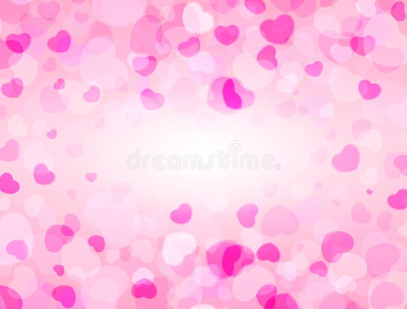 E Het frame van de liefde Het kan voor prestaties van het ontwerpwerk noodzakelijk zijn stock illustratie