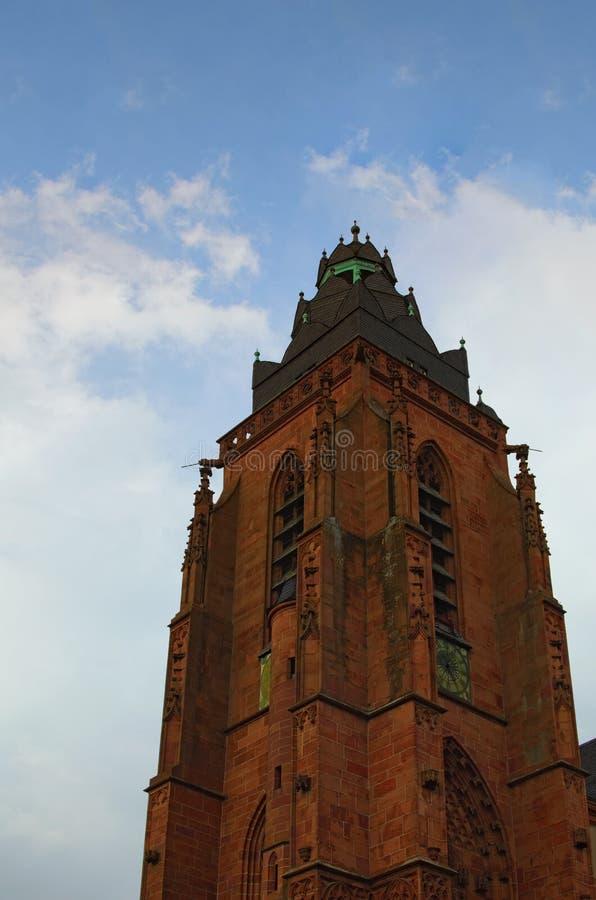 E Historyczna część Wetzlar miasto Stan Hesse, Niemcy obraz stock