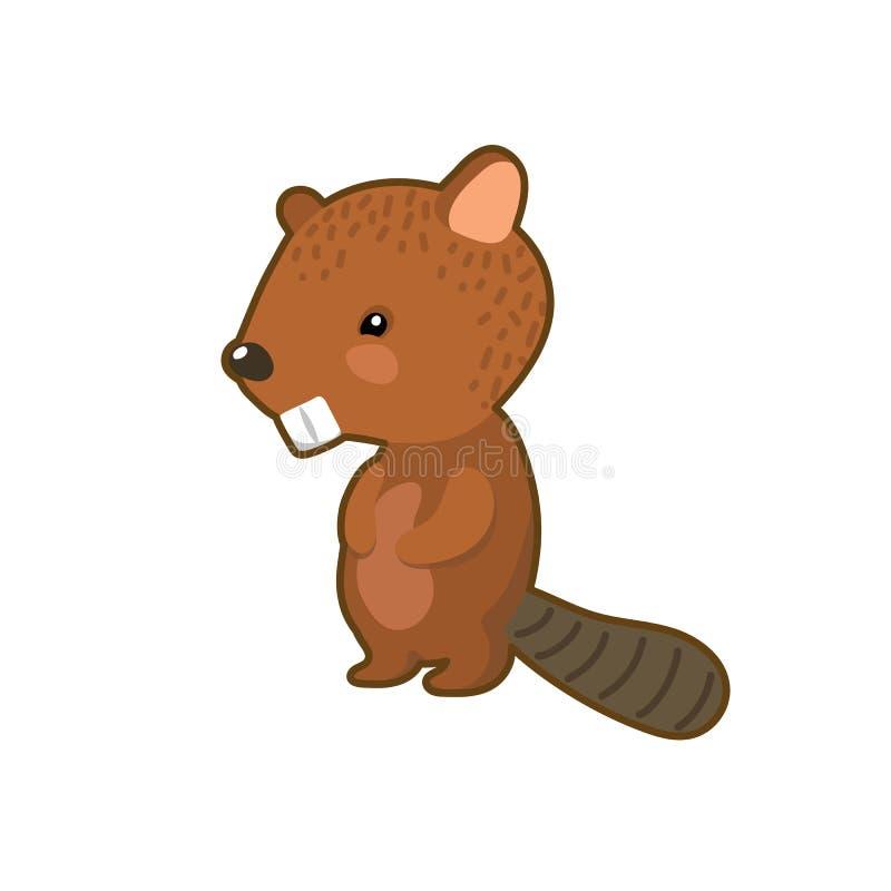 E Icono animal del arbolado r ilustración del vector