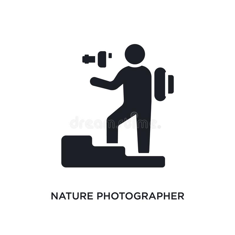 E ilustração simples do elemento dos ícones do conceito dos seres humanos r ilustração do vetor