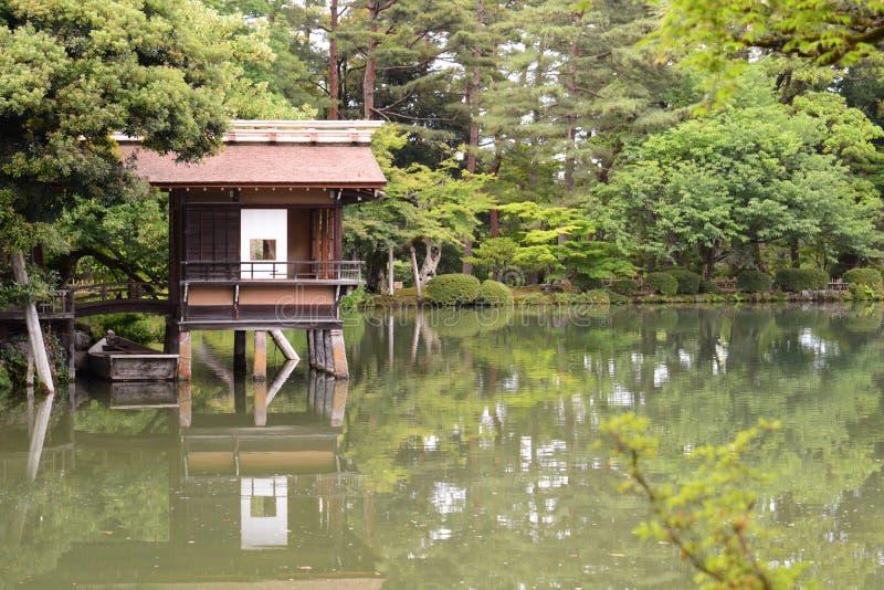 E jardin Kenroku-en Kanazawa japan image stock