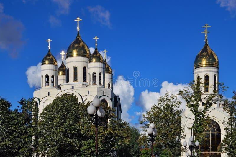 E Kaliningrad, Russland lizenzfreie stockbilder