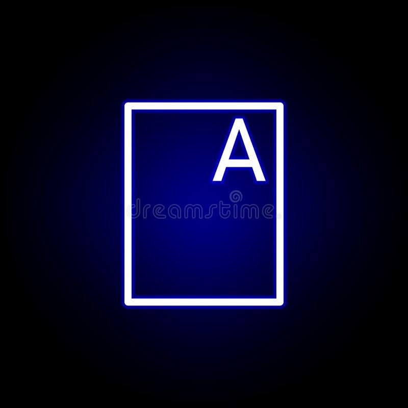 E Kann f?r Netz, Logo, mobiler App, UI, UX verwendet werden lizenzfreie abbildung