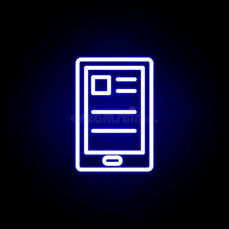 E Kann f?r Netz, Logo, mobiler App, UI, UX verwendet werden stock abbildung