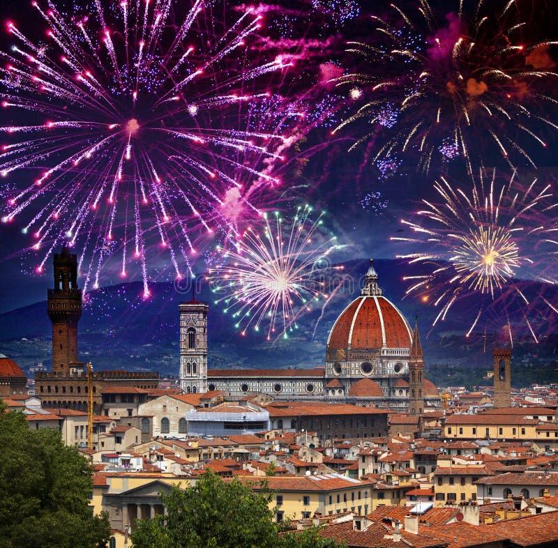 E Kathedraal Santa Maria del Fiore Italië Florence royalty-vrije stock foto