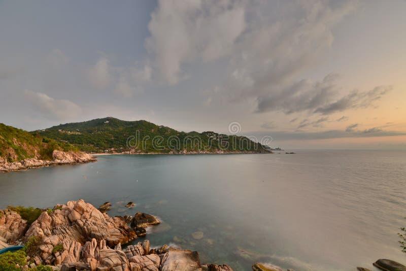 E koh Tao Chumphon archipelag Tajlandia zdjęcie stock