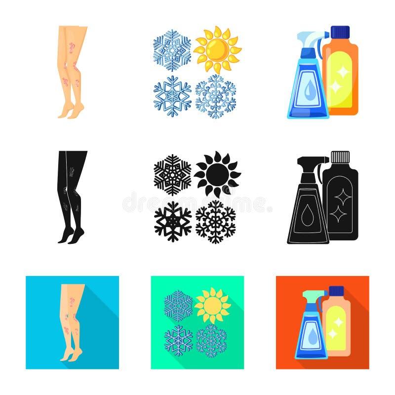 E Kolekcja medyczny i choroba akcyjny symbol dla sieci royalty ilustracja