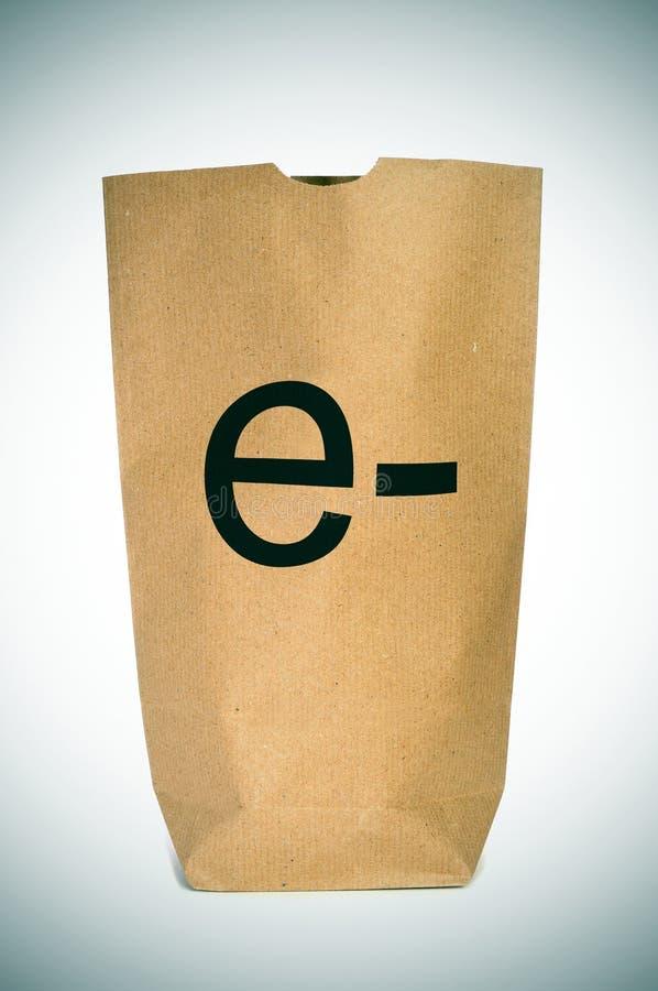E-kommers royaltyfri bild