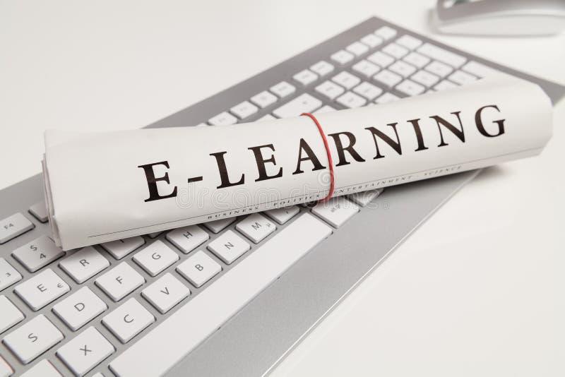 E-lära arkivfoton